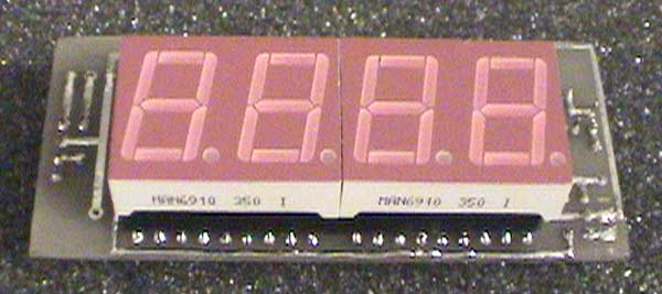 Digital Voltmeter Kit : Icl digital voltmeter