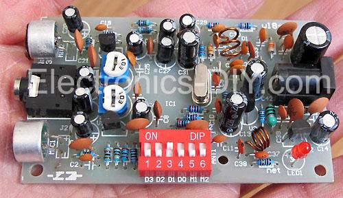 Stereo PLL FM Transmitter
