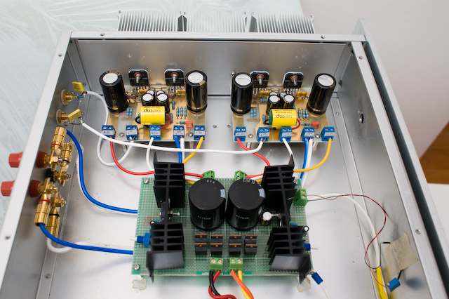 100W LM3886 Parallel Stereo Power Amplifier