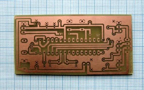 Key Digital Circuit Scheme Using A Password