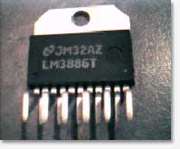 Gainclone Power Amplifier LM3886