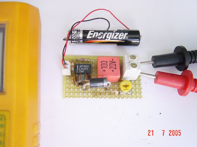 1.5V to 5V/12V DC/DC Converter with LT1073