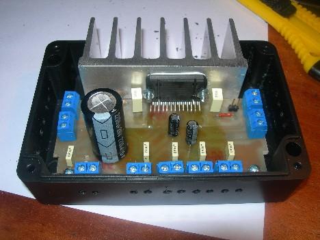 Diy 4 X 22w Car Audio Amplifier Based On Tda7384