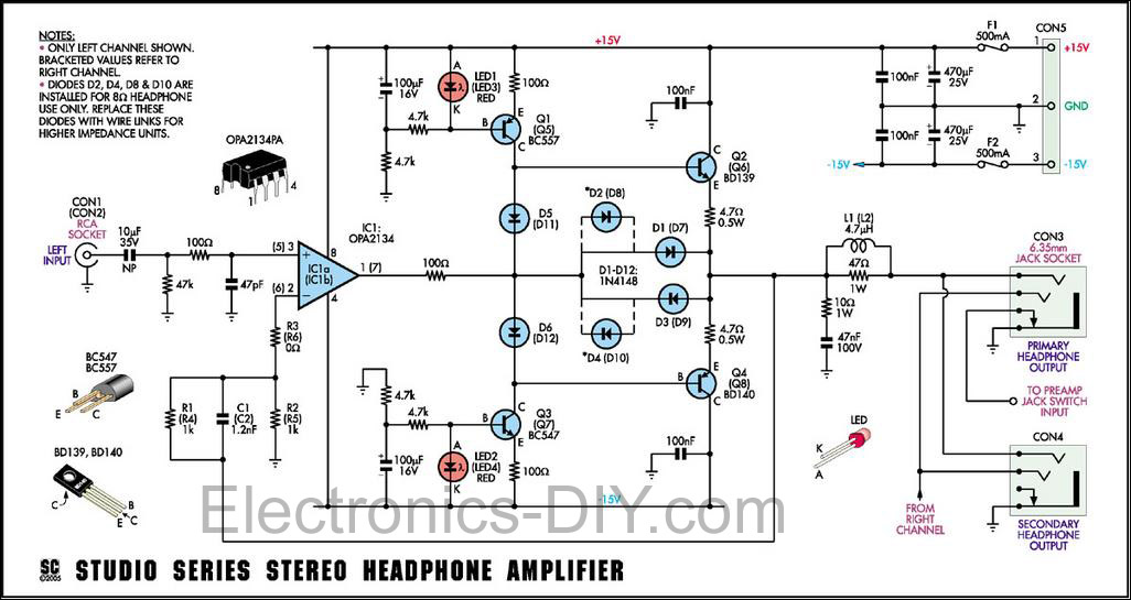 stereo lifier schematic  stereo  free engine image for user manual download