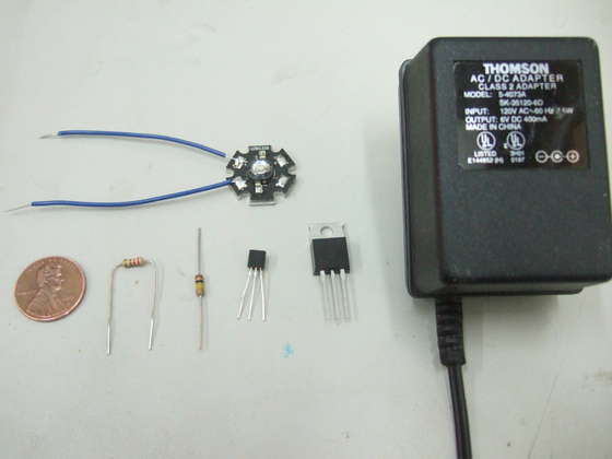 Power LED Driver Circuit