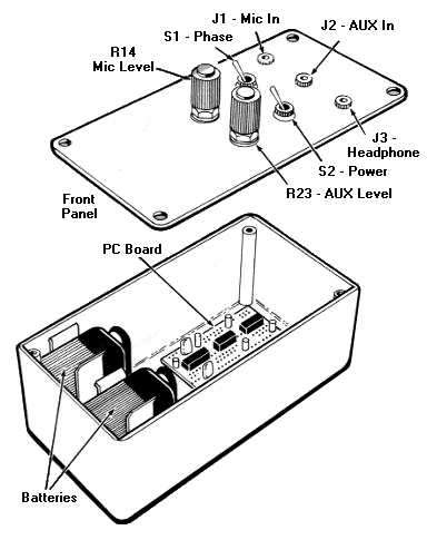 Noise Reduction Stereo Amp Wiring