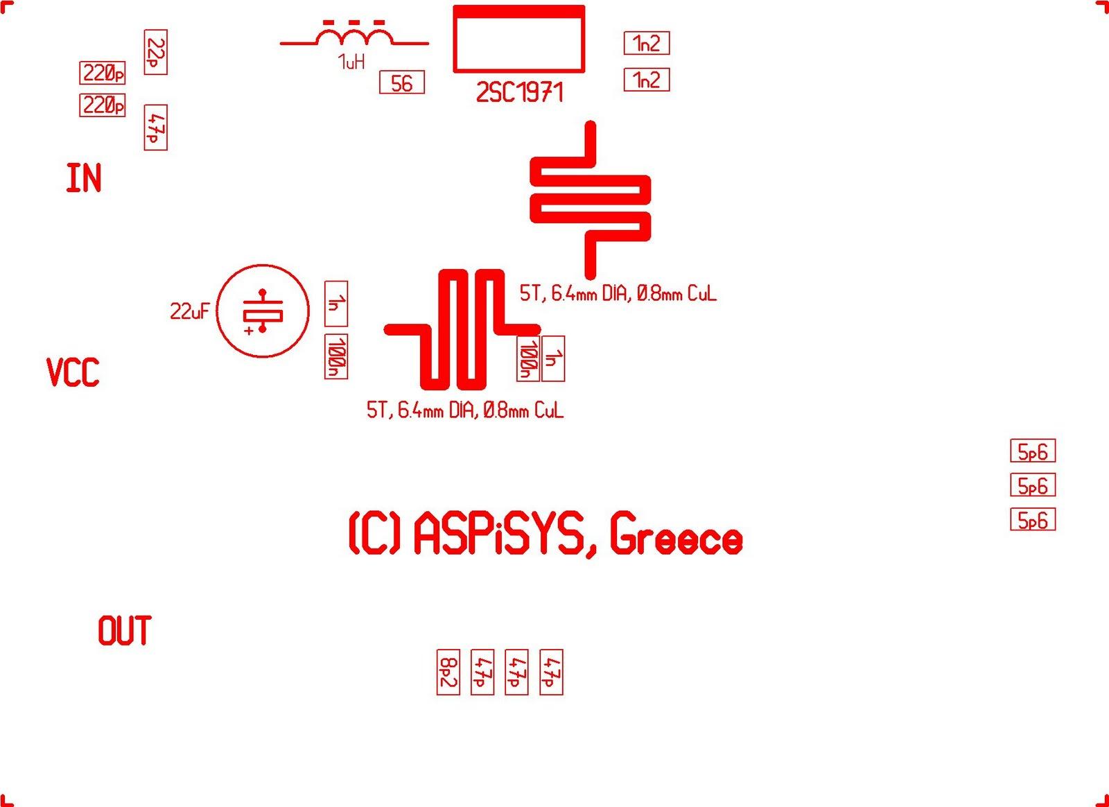 8w Broadband Fm Rf Amplifier Mw Transmitter Circuit