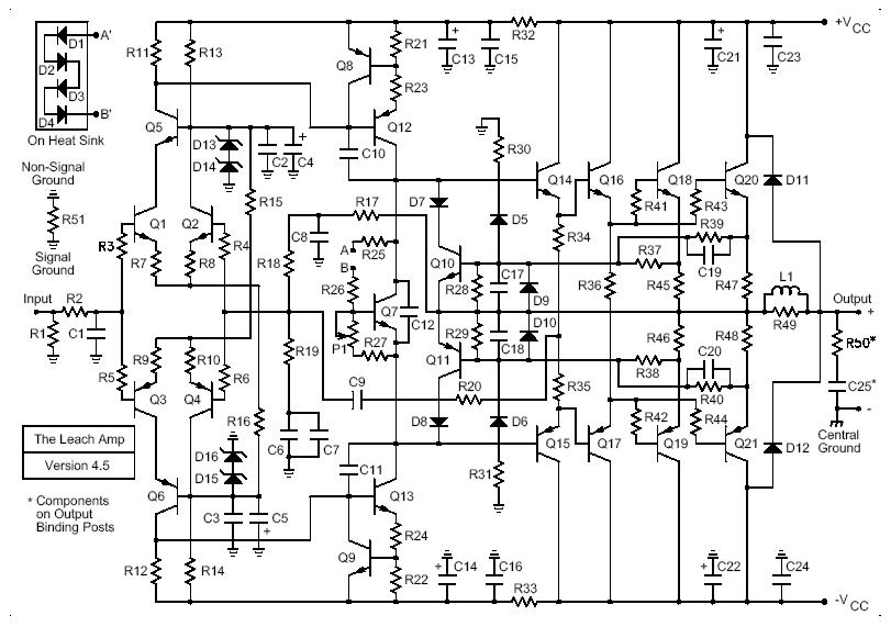 200w leach amp