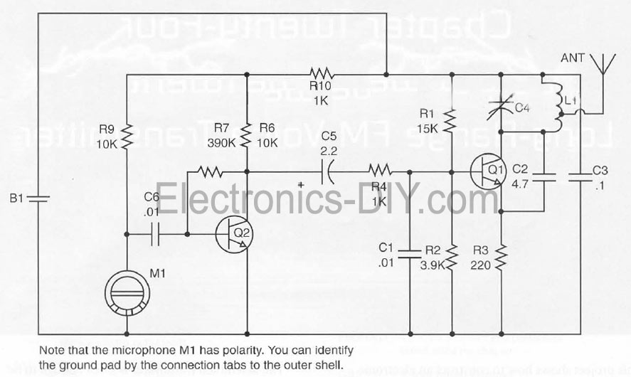 Brilliant Long Range Fm Voice Transmitter Circuit Schematic Diagram Basic Wiring Cloud Hisonuggs Outletorg