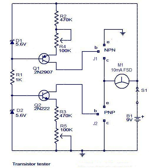 Driving High And Low Inputs Of A Mosfet Driver With A Single  m Signal also Transistor Tester likewise Author also Controlling Higher Voltage And Load Via High Side Switch From A Microcontroller as well Watch. on npn mos fet schematic