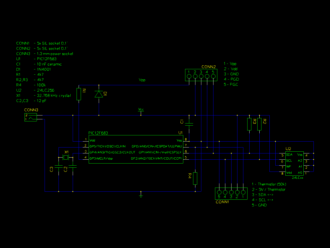 Pic Temperature Logger With Thermistor And Voltage Divider Circuit Programming The Arduino