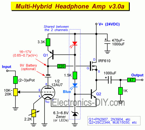 Image Result For Diy Amplifier Headphonea
