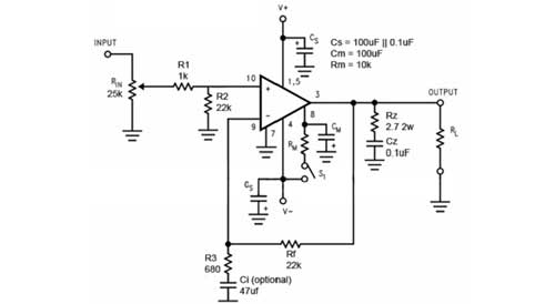 LM3886 Amplifier Gainclone