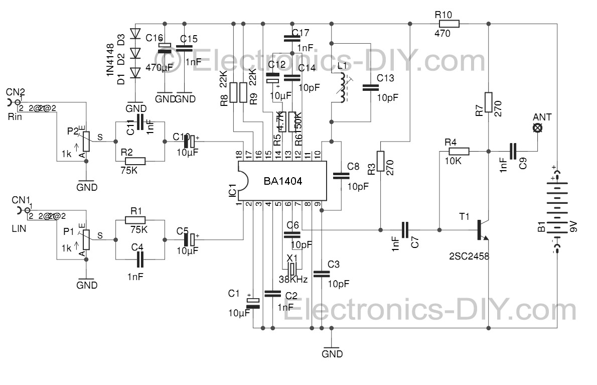 Electronicsdiycomcircuit And The Rf Thief
