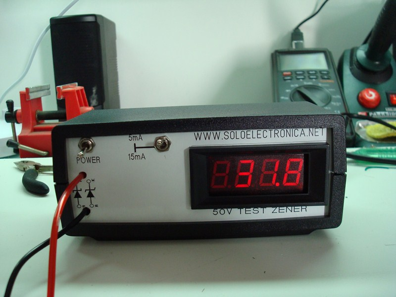 Voltage Regulator Tester : Zener diode meter v to