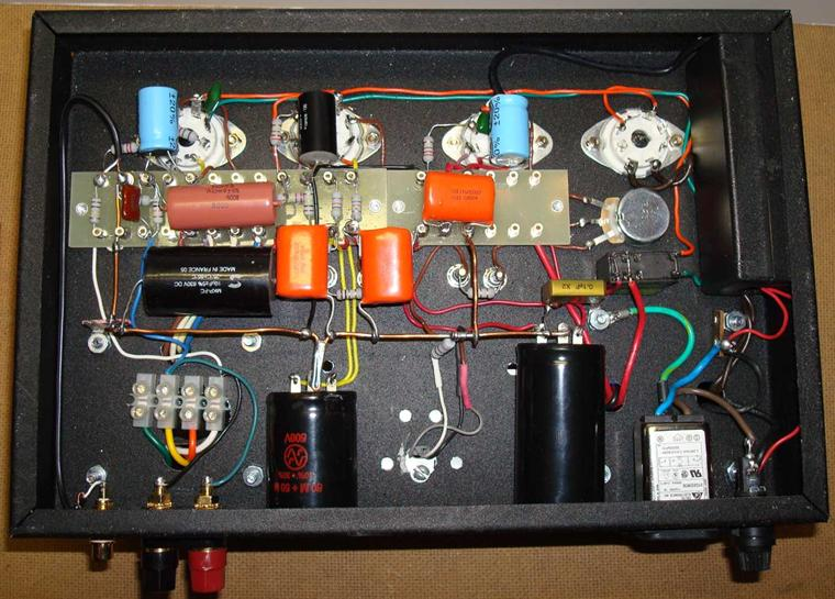 Class-A Push-Pull Tube Power Amplifier