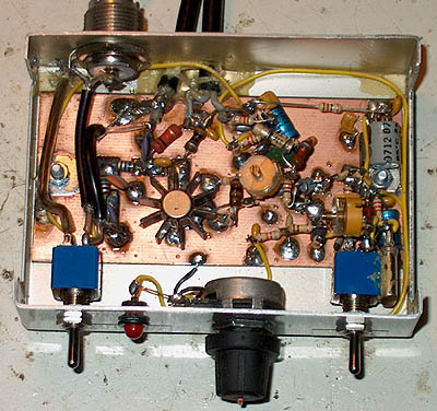 1 Watt QRP Power Transmitter