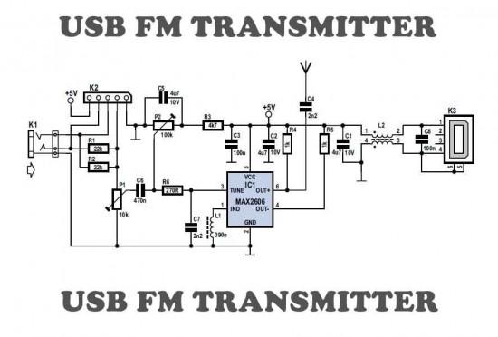 USB FM Transmitter