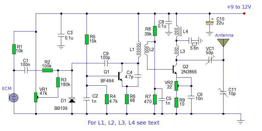 2km Long Range Fm Transmitter