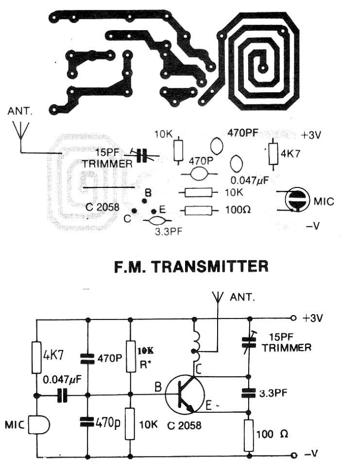 3v fm transmitter