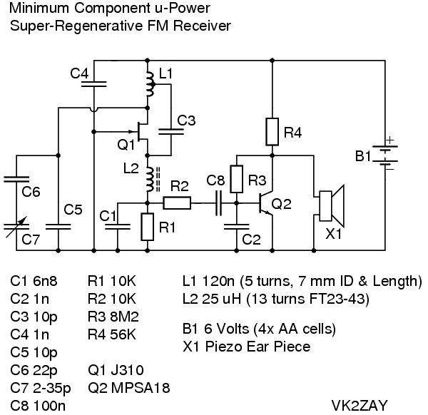 Im Yahica Fm Receiver Circuit Diagram Using Transistor