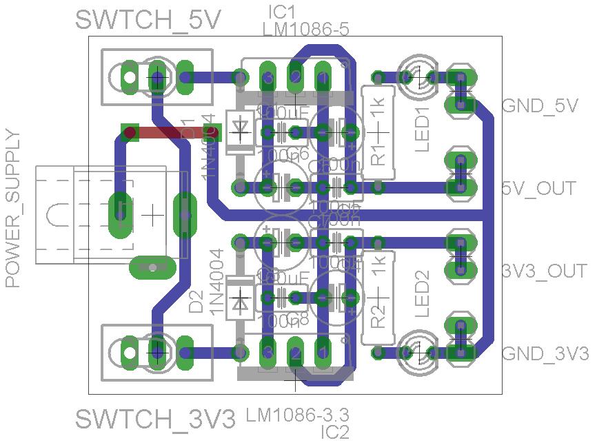 3 3V and 5V Power Supply