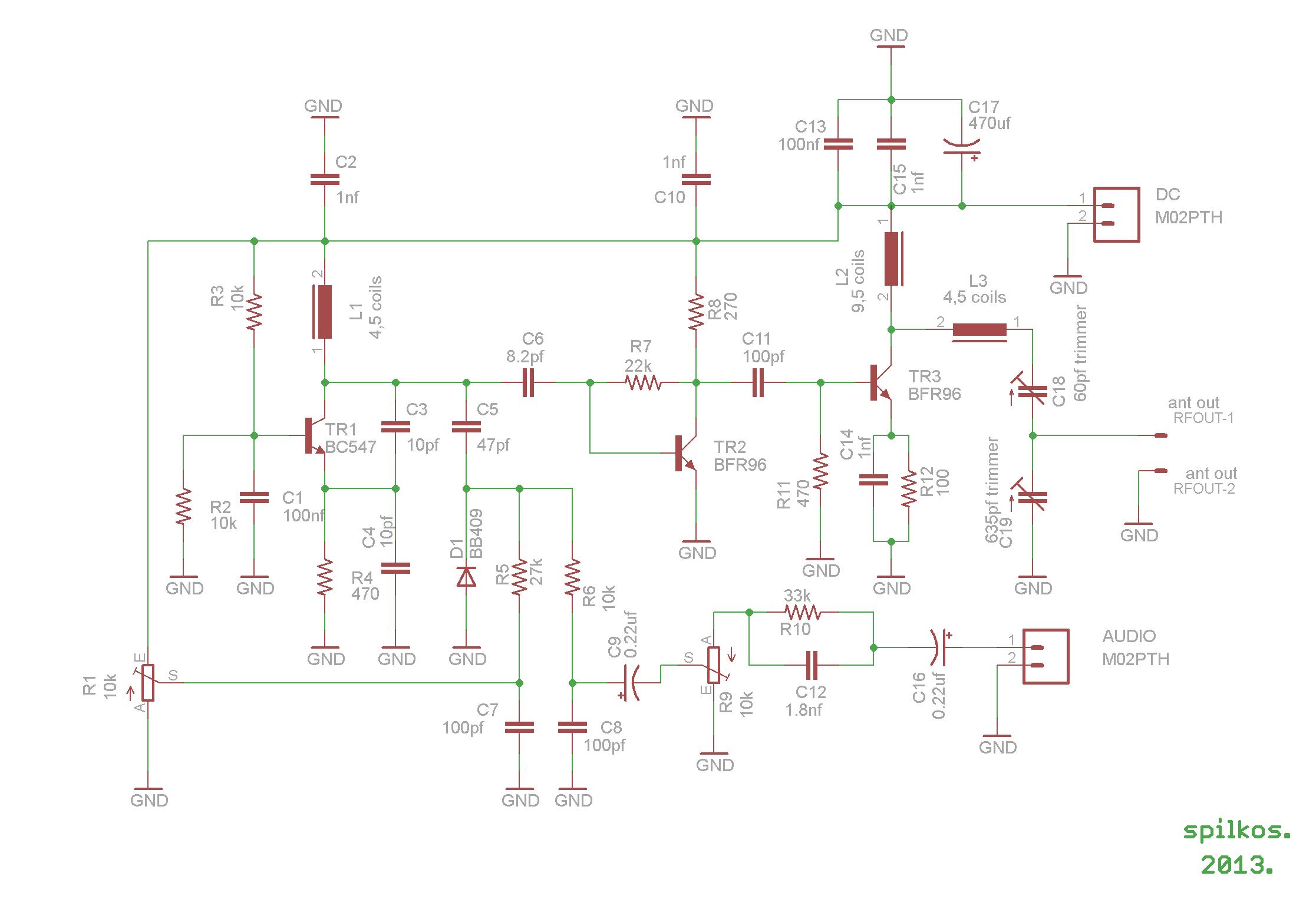 4km Fm Transmitter Coil Inductance Meter Circuit Diagram
