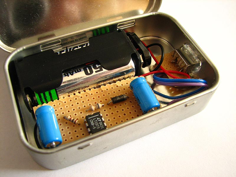 Usb battery pack for Diy electronic gadgets
