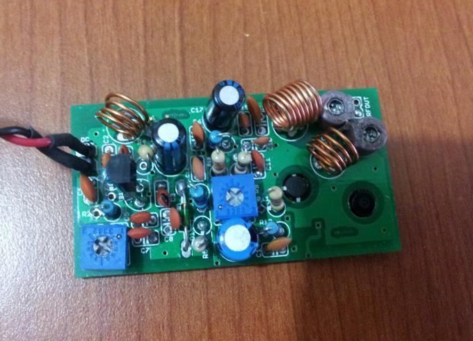 400mw vco fm transmitter rh electronics diy com FM Broadcast Transmitter FM Transmitter for Car