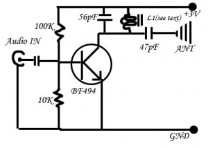 The Simplest FM Transmitter