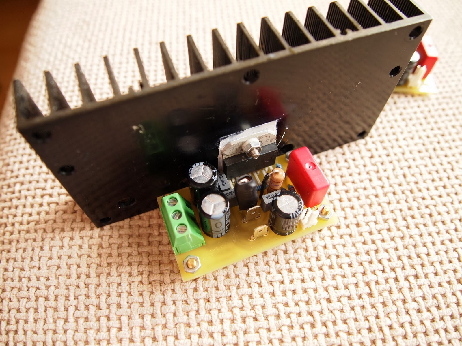 50w Lm3886 Power Amplifier Hifi Digital Stereo Amp Circuit Lm3886tf Small Audio
