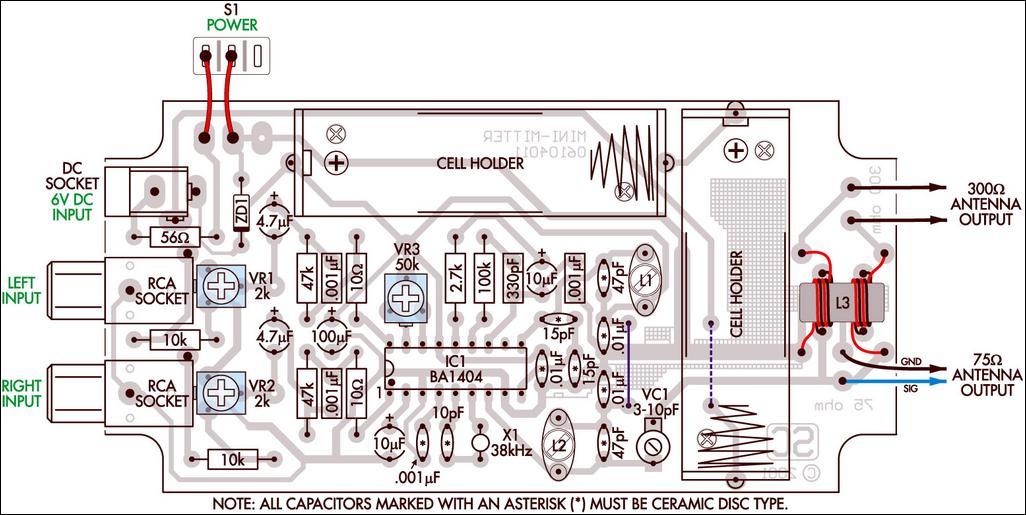 stereo amplifier schematics  | electronics-diy.com
