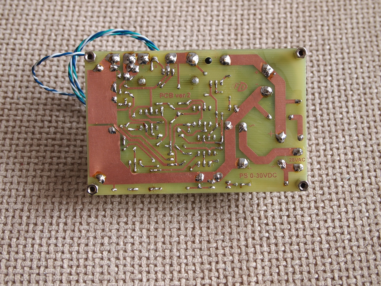 30v 4a Adjustable Bench Power Supply Variable Dc Electronic Circuit Diagram