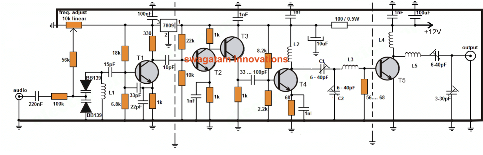 2 5 Km Long Range Fm Transmitter Wiring Diagram As Well Npn And Pnp Transistor On Prox