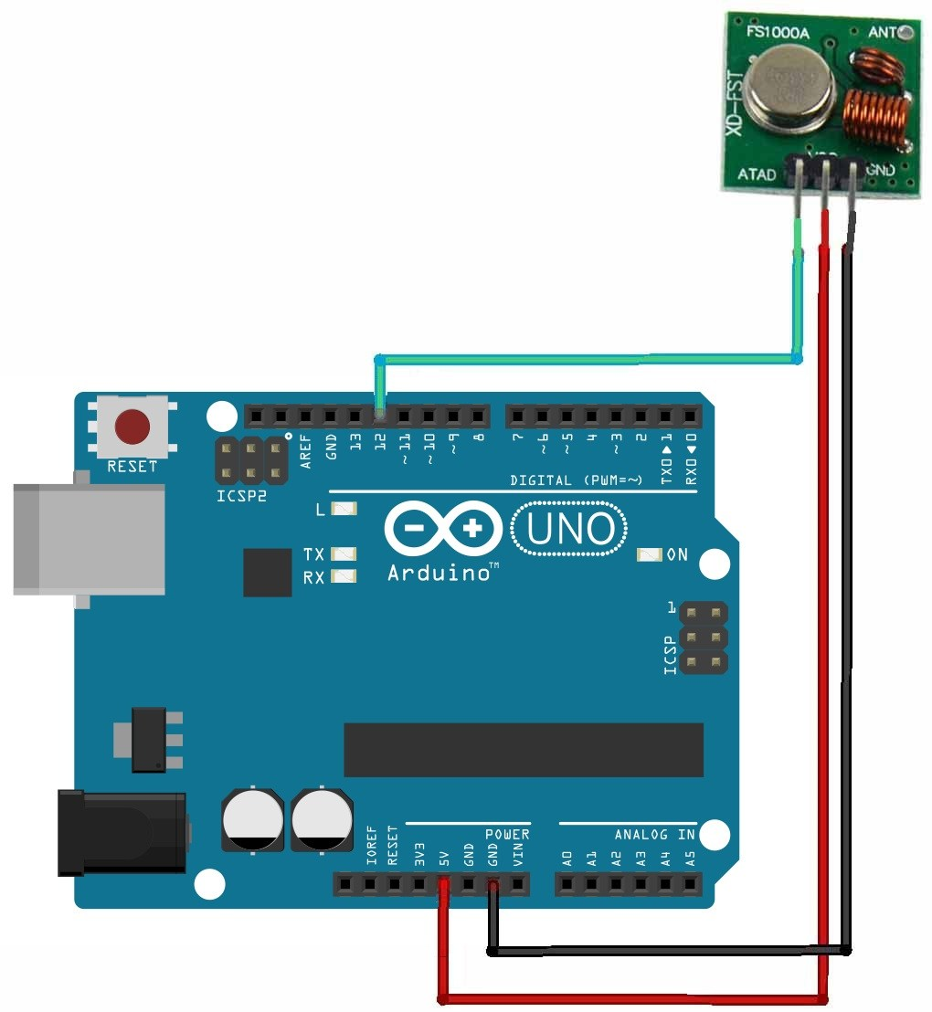 Using RF 433MHz Transmitter / Receiver Modules With Arduino