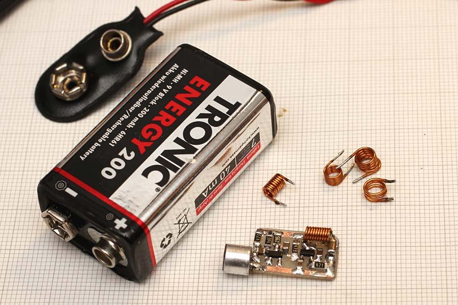 Spy Bug FM Transmitter