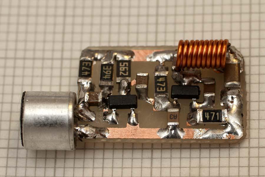 spy bug fm transmitterHigh Quality Fm Bug #21