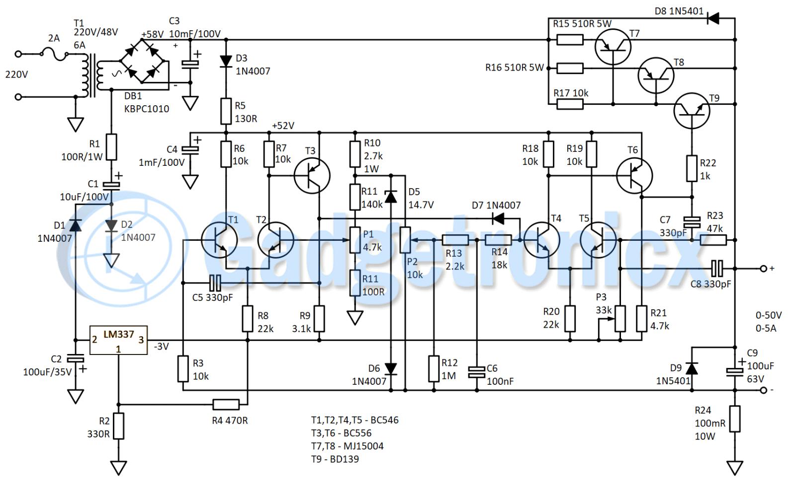 Bench Lab Power Supply 0