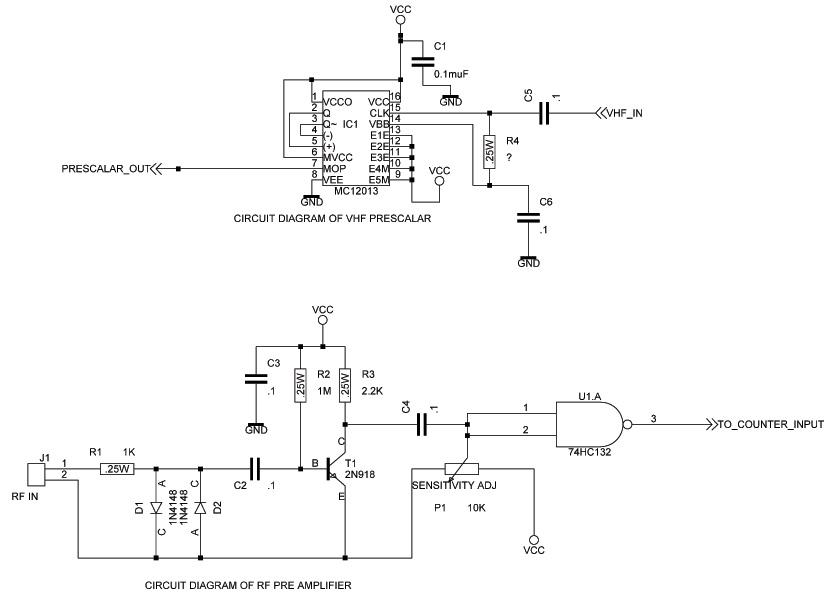 prescaler with counter rh electronics diy com