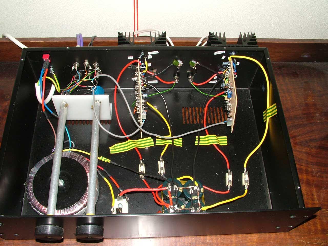 70w Class Ab Hi Fi Amplifier A Headphone Wiring Circuit