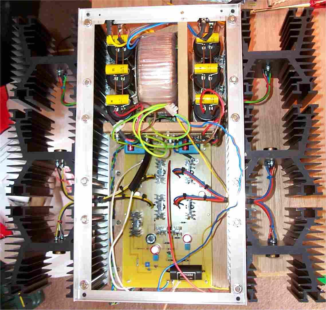 Jlh Class A Amplifier Diy Simple Construction Using Circuit Schematic