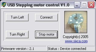 Control stepping motor via USB interface on bldc controller schematic, servo controller schematic, electric motor schematic, brushed motor controller schematic, motor speed controller schematic, pwm motor controller schematic, permanent magnet motor controller schematic, solid state relay schematic, stepper motor control, bipolar stepper motor schematic, brushless motor controller schematic, torque motor controller schematic, dc motor controller schematic, linear motor controller schematic, treadmill motor controller schematic, stepper motor kits, stepper motor icon, unipolar stepper motor schematic, motor control circuit schematic, servo motor schematic,