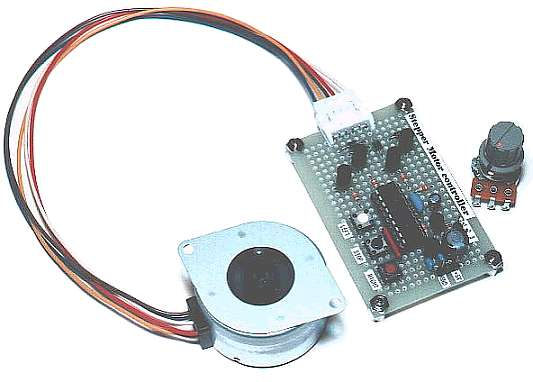 Stepper motor controller for Controlling a stepper motor