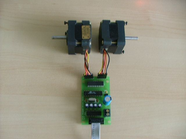 avr pc stepper motor driver rh electronics diy com Stepper Motor Kits Bipolar vs Unipolar Stepper Motors