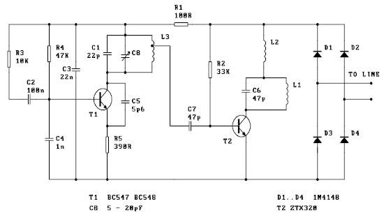 schematics tutorials downloads contact simple fm transmitter bug rh fullventas co