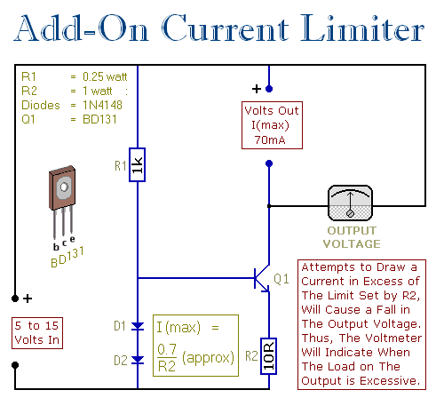 Add On Current Limiter