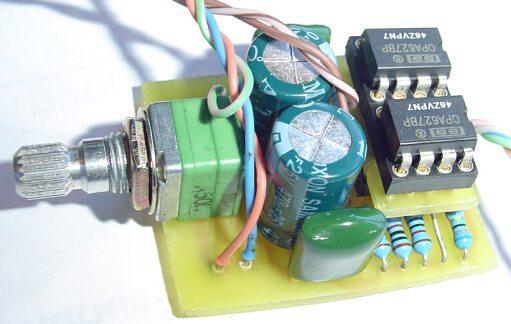 Chu Moy Headphone AmpElectronics DIY