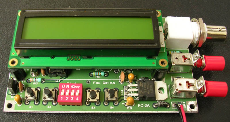 40/400MHZ Frequency Counter