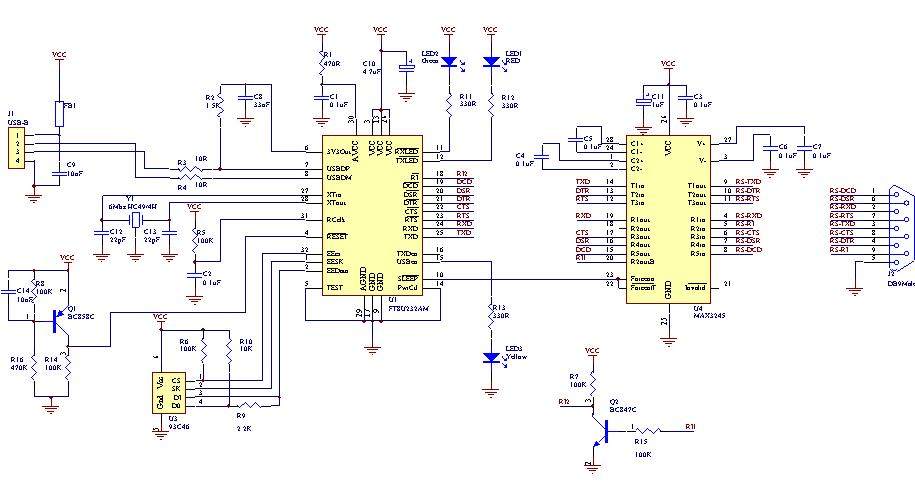 Usb To Rs232 Converter Schematic: to RS232 Donglerh:electronics-diy.com,Design