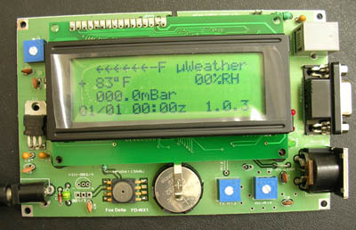 PIC16F877 APRS Weather Station